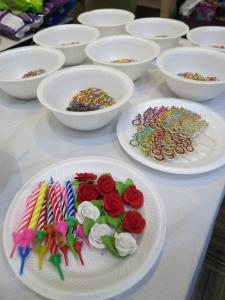 Materials for cake decor